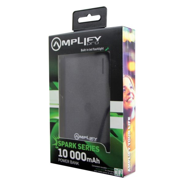 Amplify Pro Spark Series 10000mAh Power Bank
