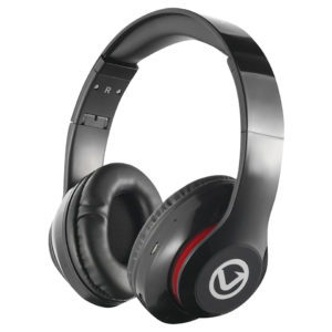 Volkano Impulse Series Over-Ear Multi-Function Bluetooth Headphones (Black)
