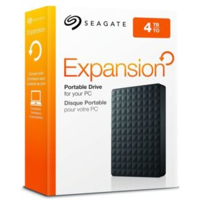 "Seagate® 4.0TB 2.5"" Expansion Plus Portable USB 3.0 - Simple and Instant Storage"
