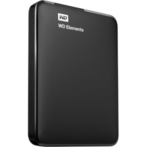 "WD Elements 1TB 2.5"" USB3.0 Black"